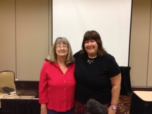 Meeting Connie Ragen Green at Weekend marketer Live